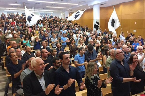 Le PNC (Partitu di a Nazione Corsa) a réuni dimanche 24 septembre ses militants pour une dernière assemblée générale