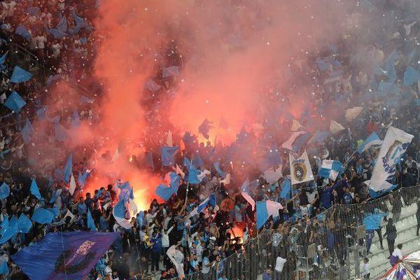 Photo d'avant match le 22 octobre au stade Orange Vélodrome