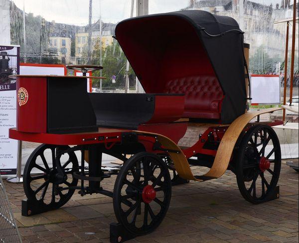 La Mancelle, inventée par Amédée Bollée en 1878, un des exemples d'innovation made in Le Mans