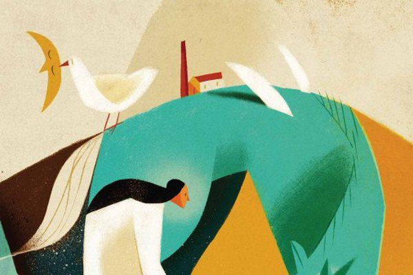 La prochaine affiche du festival de Clermont-Ferrand réalisée par l'illustrateur Italien Riccardo Guasco