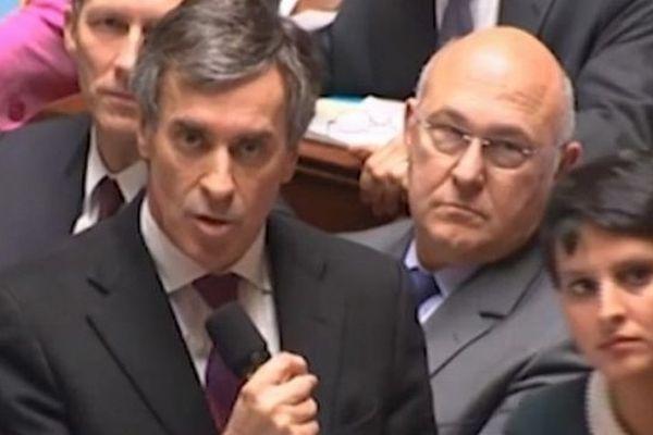 Jérôme Cahuzac à l'Assemblée nationale
