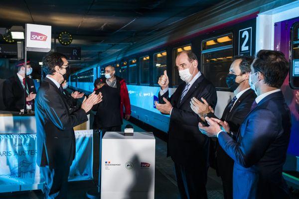 Jean Castex a inauguré la réouverture du train de nuit Paris-Nice, le premier d'une longue liste. Photo d'illustration