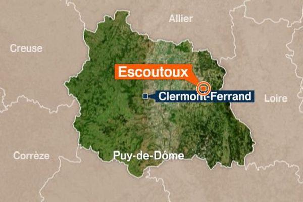 Dans la soirée du dimanche 5 novembre, une jeune femme a perdu le contrôle de son véhicule sur la commune d'Escoutoux dans le Puy-de-Dôme.