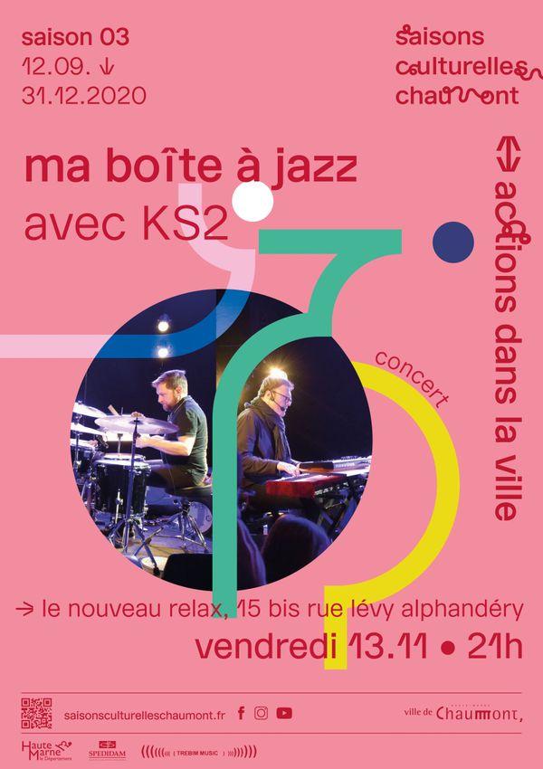 """L'événement """" Ma boîte à Jazz"""" sera visible en ligne, compte tenu du confinement."""