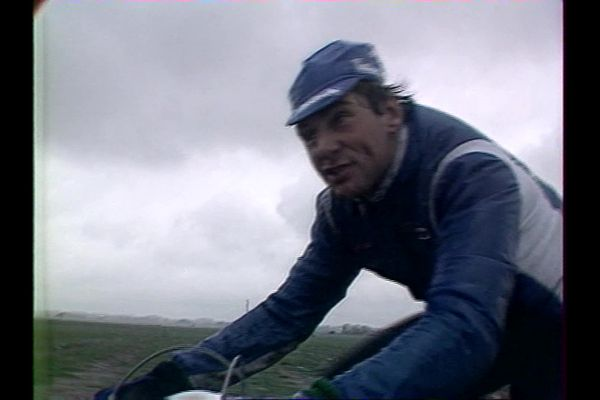 Alain Bondue sur la reconnaissance du Paris-Roubaix 1984