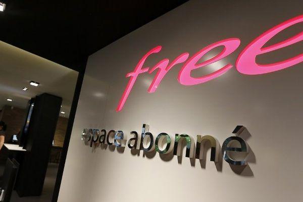 L'espace abonné du Free Center parisien, à proximité de la place de la Madeleine, dans le 8e arrondissement de la capitale.