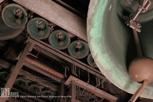 Les cloches du Beffroi de Saint-Amand-les-Eaux