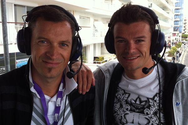 Antony Brulez et Fred Belaubre champion d'Europe de triathlon