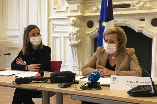 Michèle Kirry, préfète de la région Bretagne, a annoncé vendredi 23 octobre la mise en place de mesures restrictives mises en place en Ille-et-Vilaine et associées au couvre-feu imposé dans tout le département.