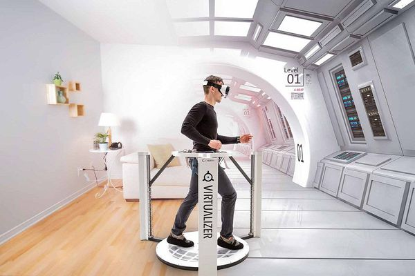 Le Virtualizer de Cyberith, utilisé pour la première fois dans l'immobilier