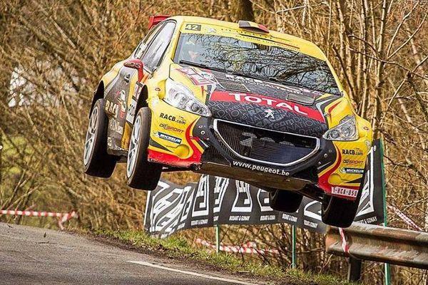 Le Belge Guillaume De Mevieus (Peugeot 208 WRC2) engagé sur la 61ème édition du Tour de Corse.