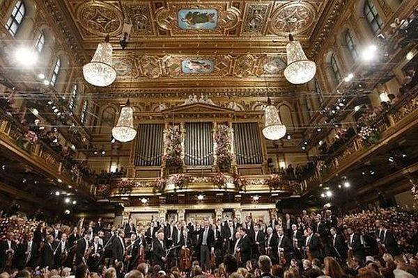Le concert du Nouvel an à Vienne en 2013