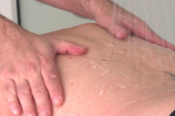 Massage aux Thermes de Saujon