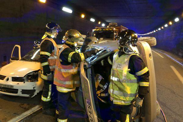 Illustration - Accident dans le tunnel de Bastia