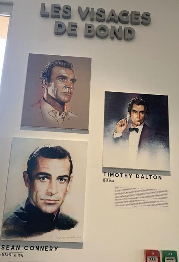 De Sean Connery à Daniel Craig, vous y retrouverez 007 sous toutes ses doublures.
