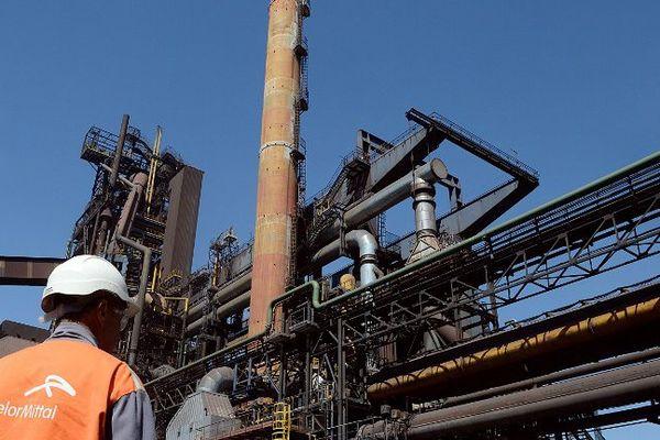 Le site d' Arcelor Mittal à Fos-sur-Mer