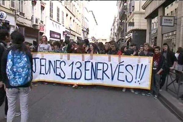 Manifestation du 5 avril 2016 à Marseille