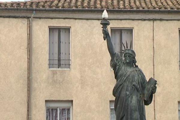 La statue de la liberté à Lunel (34)