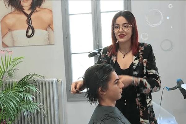 Alix Darles est vice-championne du monde de coiffure masculine
