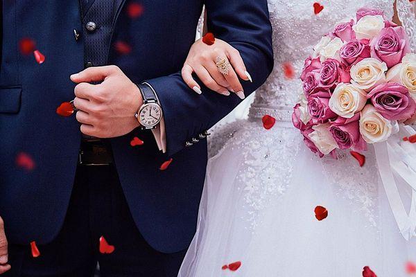 """Coronavirus : ce petit """"détail"""" que les mariés n'avaient pas anticipé."""