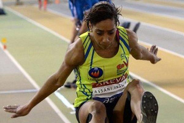 Assani-Issouf, le 21 février dernier à Aubière (63) lors des championnats de France de France Elite.