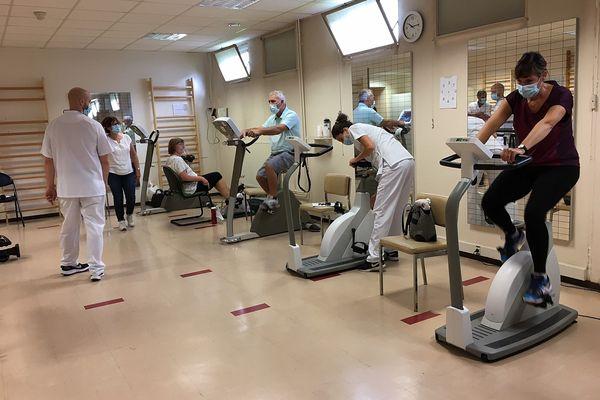 L'entraînement à l'effort est indispensable, pour les patients.