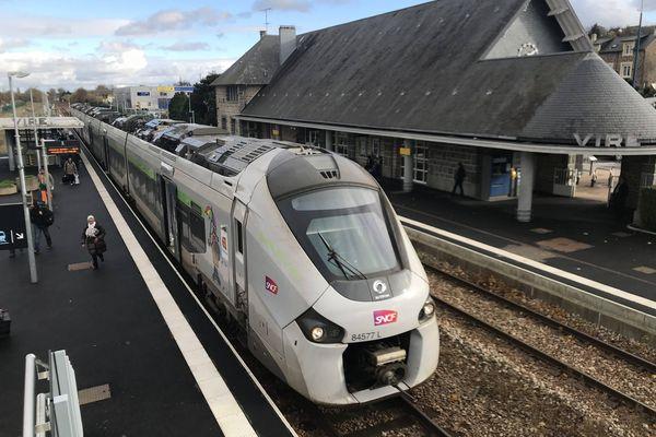 Sur la ligne de train Paris-Granville, la circulation est interrompue entre Dreux et Paris les 5, 6, 12 et 13 juin 2021.