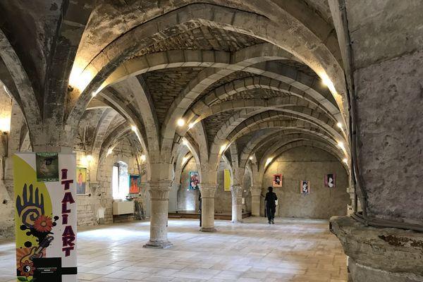 Le cellier de Clairvaux à Dijon, où se déroule le Festival Italiart