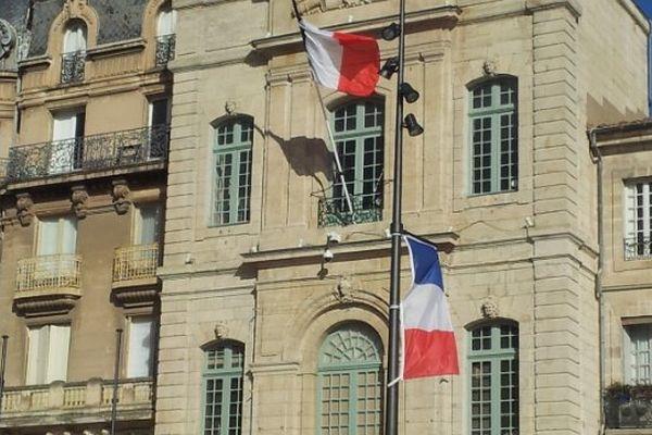 Façade de la mairie de Béziers