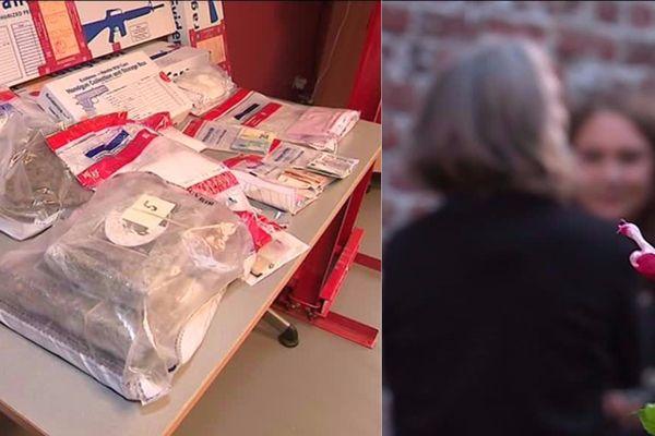 Malgré l'importante opération de police contre un réseau de trafic de drogue à Lille, rien ne semble avoir changé pour les riverains.