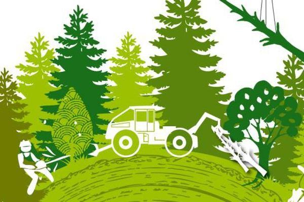 Affiche fête de la Forêt de Montagne