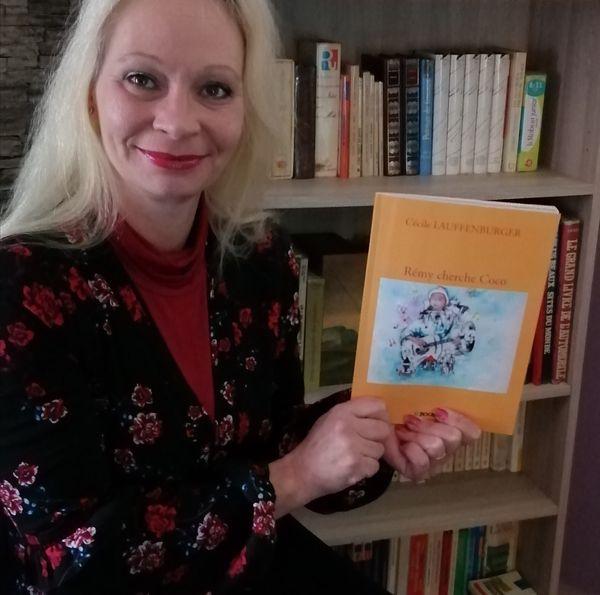 Cécile Lauffenburger présente son livre