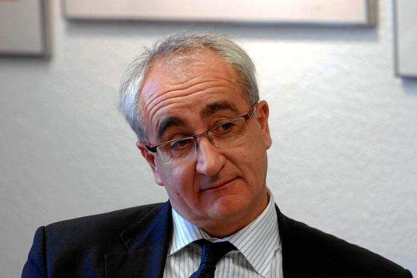 Francis Saint-Léger a été député de la 1e circonscription de la Lozère entre 2002 et 2012 - archives 2009.