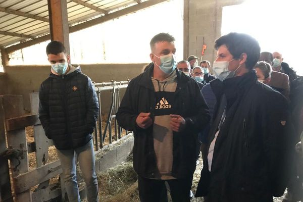 Julien Denormandie, ministre de l'Agriculture, était en déplacement vendredi 16 octobre dans le Puy-de-Dôme.