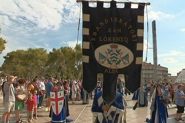 Montpellier - les fêtes de la Saint-Roch - 15 août 2017.