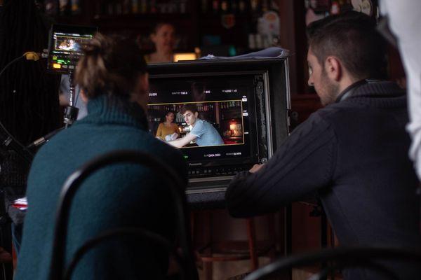 """Le tournage de """"PD"""", moyen-métrage réalisé par Olivier Lallart, a eu lieu dans le Clermontois en février 2019."""