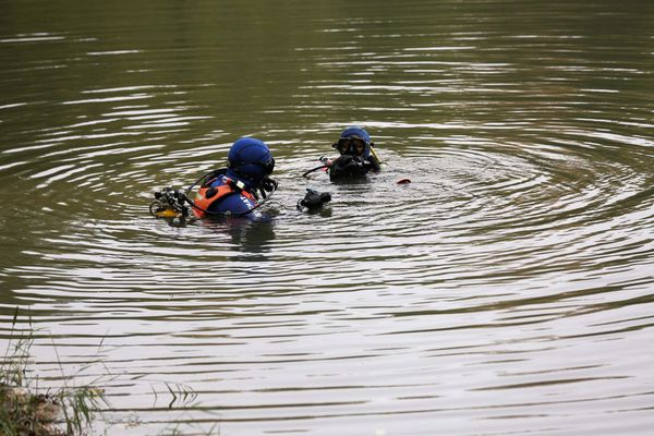 Illustration plongeurs de la gendarmerie