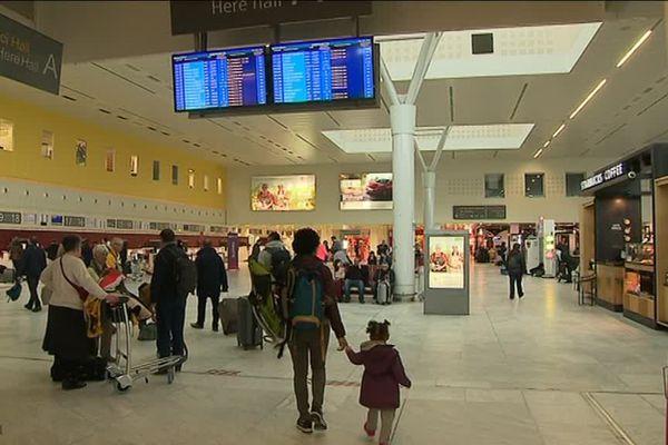 Terminal A de l'aéroport de Bordeaux Mérignac