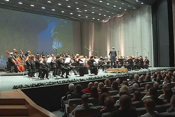Montpellier - le concert du Nouvel An au Corum - 1er janvier 2018.