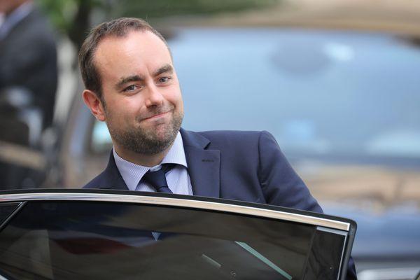 Sébastien Lecornu, le 5 septembre dernier à l'Elysée