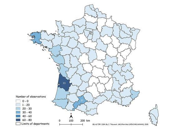 La Gironde est le département qui concentre le plus de signalements.