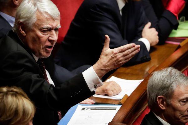 Le député parisien Claude Goasguen (LR) dénonce une « utilisation malhonnête du parti » (illustration).