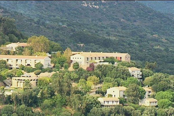Le centre hospitalier de Castelluccio, sur les hauteurs d'Ajaccio