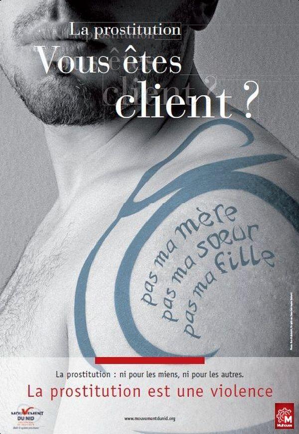Campagne de lutte contre la prostitution Mulhouse