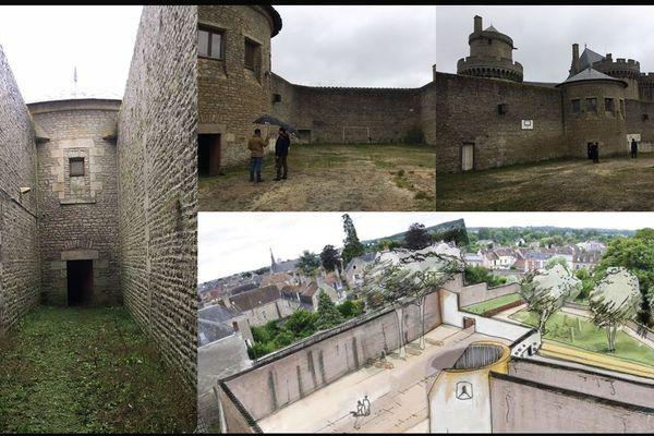 En 2019, l'ancienne cour de promenade des prisonniers du château des Ducs devrait devenir un parc destinée aux familles alençonnaises