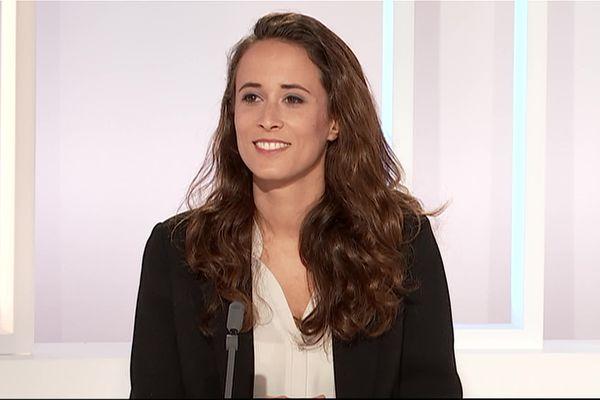 Clémence Guetté, la France Insoumise, candidate aux élections régionales