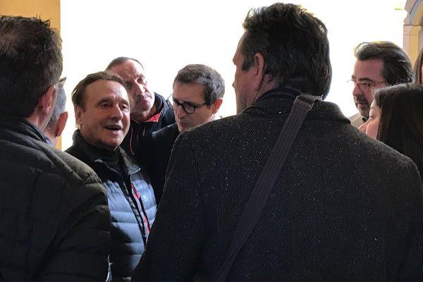 Joseph Micheli, ancien maire de Centuri, lors de son procès à Bastia, le 14 février 2017.