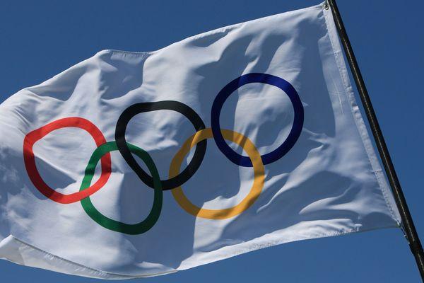 Illustration anneaux olympiques