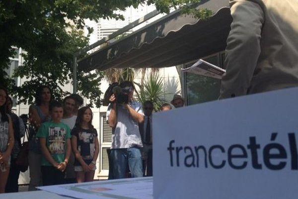 La remise des prix au siège de France 3 à Montpellier