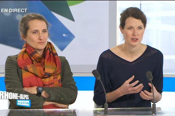 Marie Pélissier et Sophie Durand